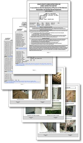 Qualtiy Home inspection reports